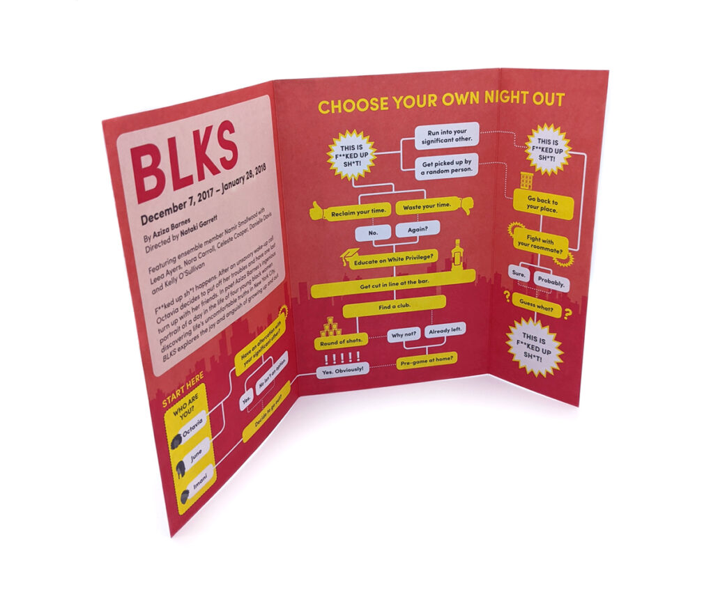 BLKS Direct Mailer (Unfolded)