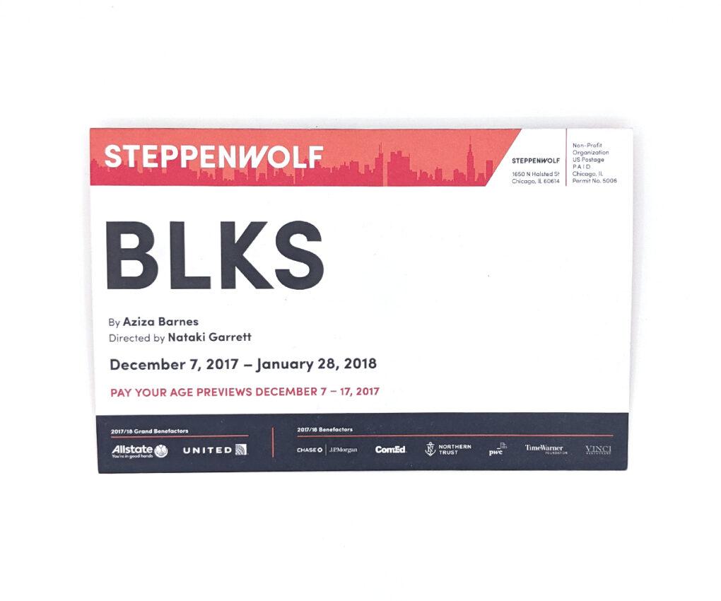 BLKS Direct Mailer (Mailer Panel)