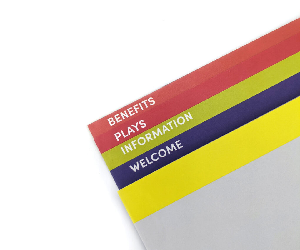 2018/19 Membership Packet (Graduated Section Tabs)
